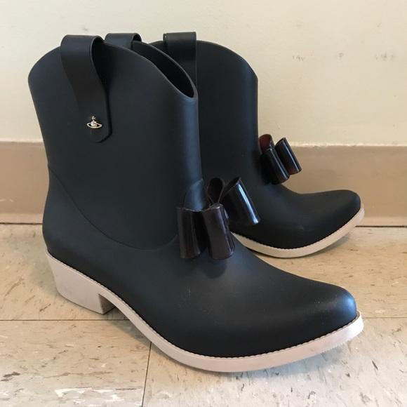 Vivienne Westwood Ankle Rain Boots Us8